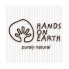 logo hands on earth